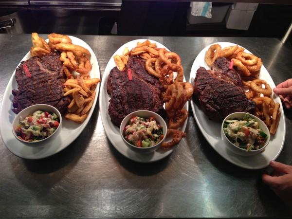 3 steak challenge SML