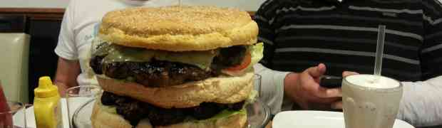 Beat the beast at Blacks Burgers