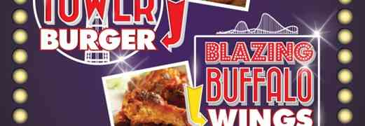 Blazing Buffalo Wings & The Tower Burger Challenge at Genting Blackpool