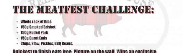 Meatfest Challenge Edinburgh