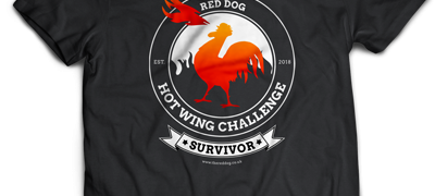 The 7 Deadly Wing Challenge at the Red Dog Inworth