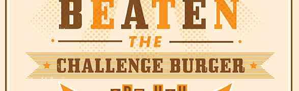Challenge Burger and Big Dawg