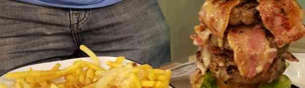 The Big 5-O Burger Challenge at 8oz Burger Company
